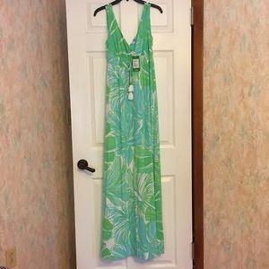 Lilly Pulitzer Isla Maxi Dress NWT. Runs TTS.